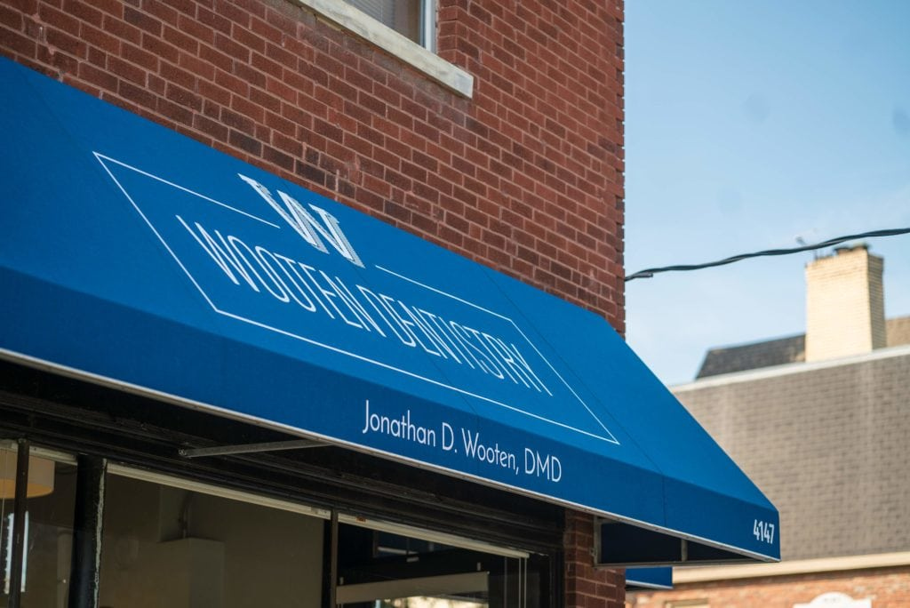 Wooten Dentistry awning
